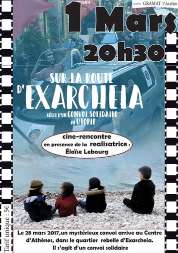 """Gramat: ciné-débat """"Sur la Route d'Exarcheia, récit d'un convoi solidaire en utopie"""" @ Gramat"""